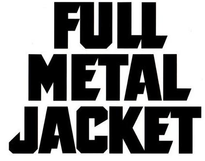 Full metal jacket title - font? anyone? - forum | dafont.com