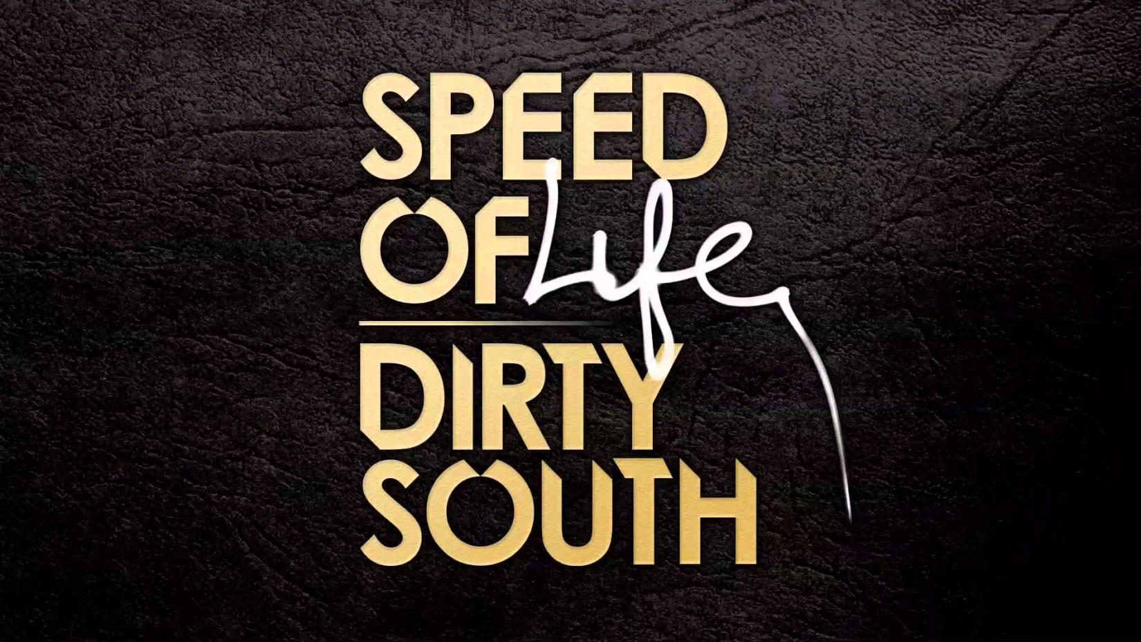 the Dirty South - Speed of Life Font pls