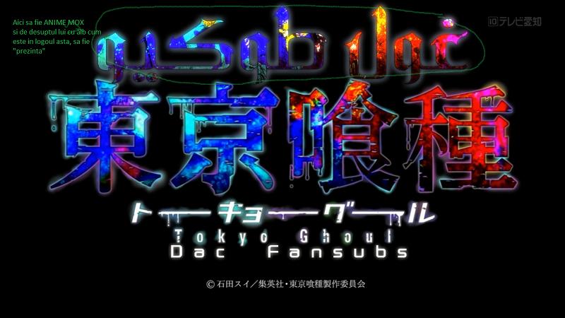 Tokyo Ghoul Anime Font Forum Dafontcom