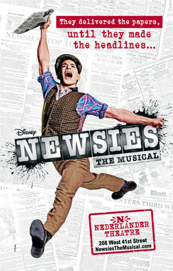 Newsies Broadway Font
