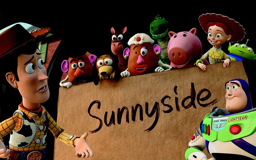 "in which font ""sunnyside"" is written??"