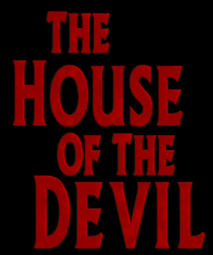 Lucifer Font: The House Of The Devil Font - Forum