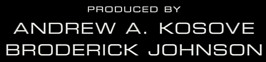 Font for movie credits