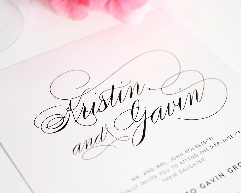 День гражданской, шрифт свадебных открыток