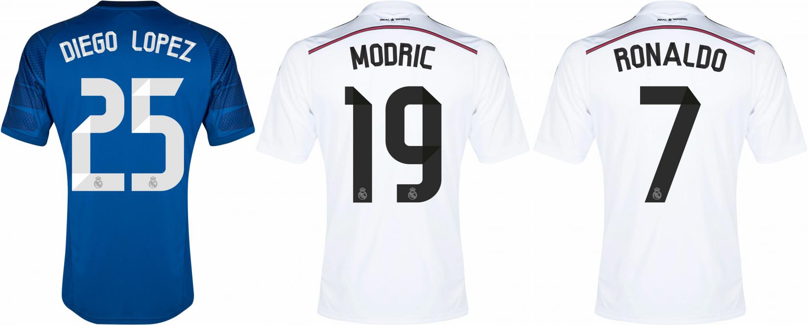 online store 5a595 6504a Real Madrid kit font - forum | dafont.com