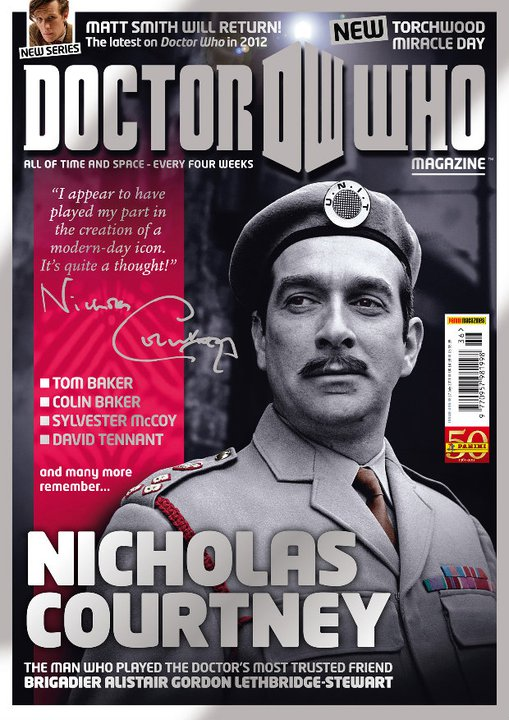 """Nicholas Courtney"" font please?"