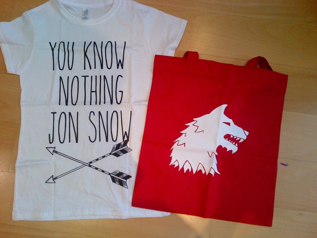 You know nothing jon snow font
