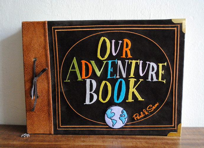 My Adventure Book Printable Cover ~ Alguna idea de qué tipografía es our adventure book