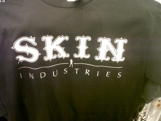 skin industrie traditional font?
