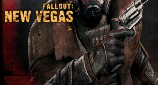 Fallout New Vegas title screen - forum | dafont com