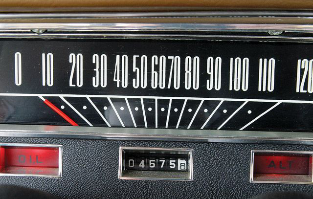 Dashboard / speedometer font?