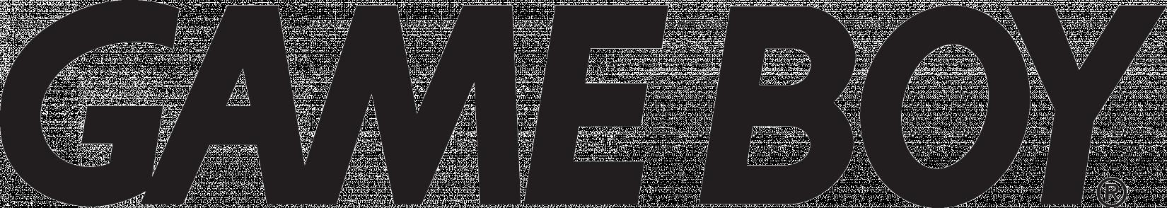 Gameboy Logo Font