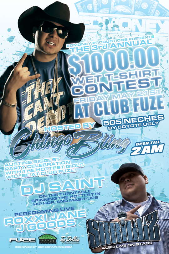 does anybody know what the name of this font is where it say chingo bling i see that font on so many flyers?