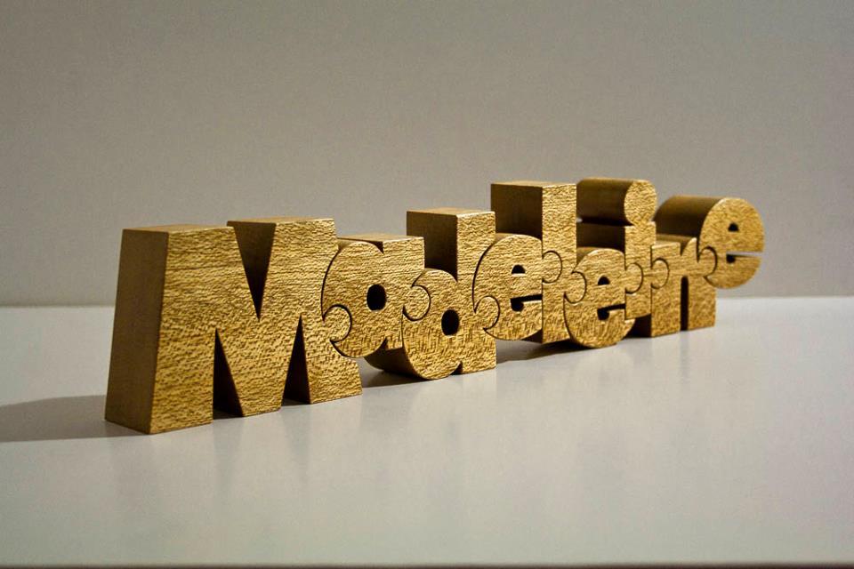 puzzle letter font
