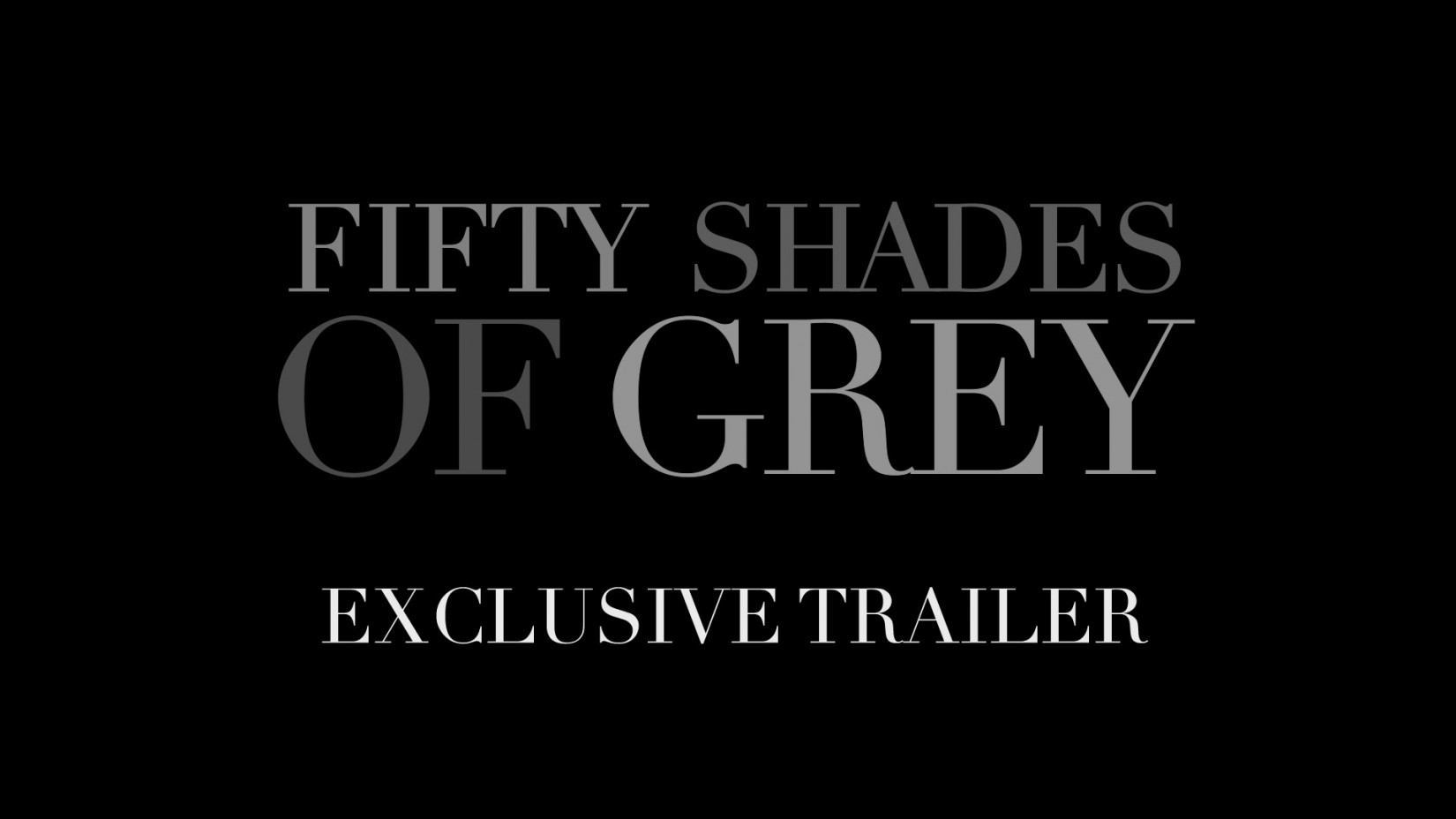 what is the font used on fifty shades of grey film trailer what is the font used on fifty shades of grey film trailer