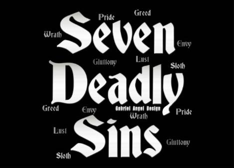 Seven Deadly Sin Font Forum Dafontcom