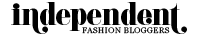 independent fashion bloggers font