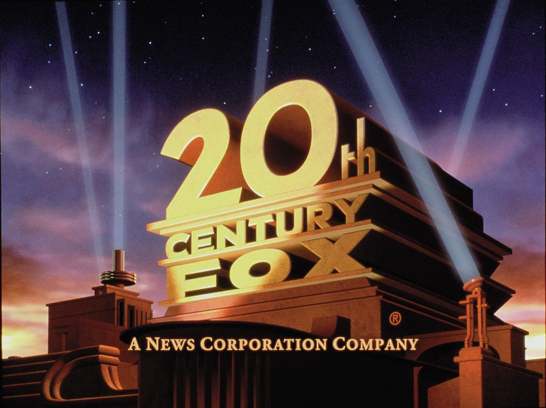 20th century fox font' AND 'a news corporation company
