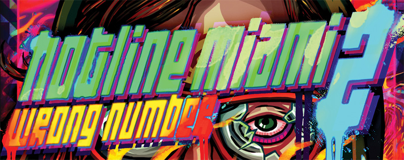 Hotline Miami 2 : Wrong Number Alternative Logo Font