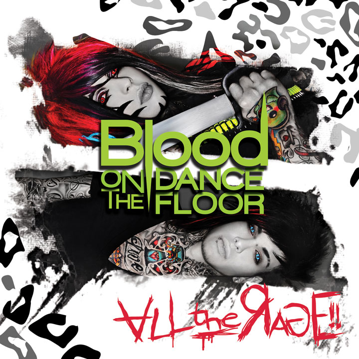 What fonts? (Blood oN THE DANCE FLOOR)