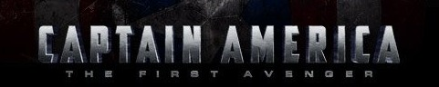 Captain America: The First Avenger Font