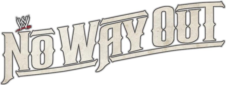 Wwe No Way Out 2012 Logo Font 1 Forum Dafontcom