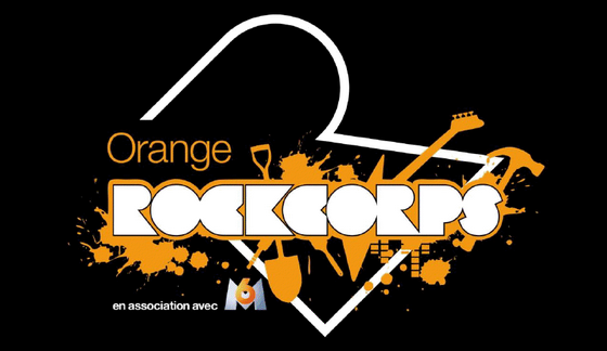 orange rockcorpse logo font?