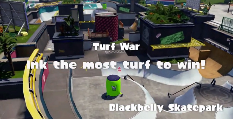 Splatoon Font ~ Ink the Most Turf to Win! - forum | dafont com
