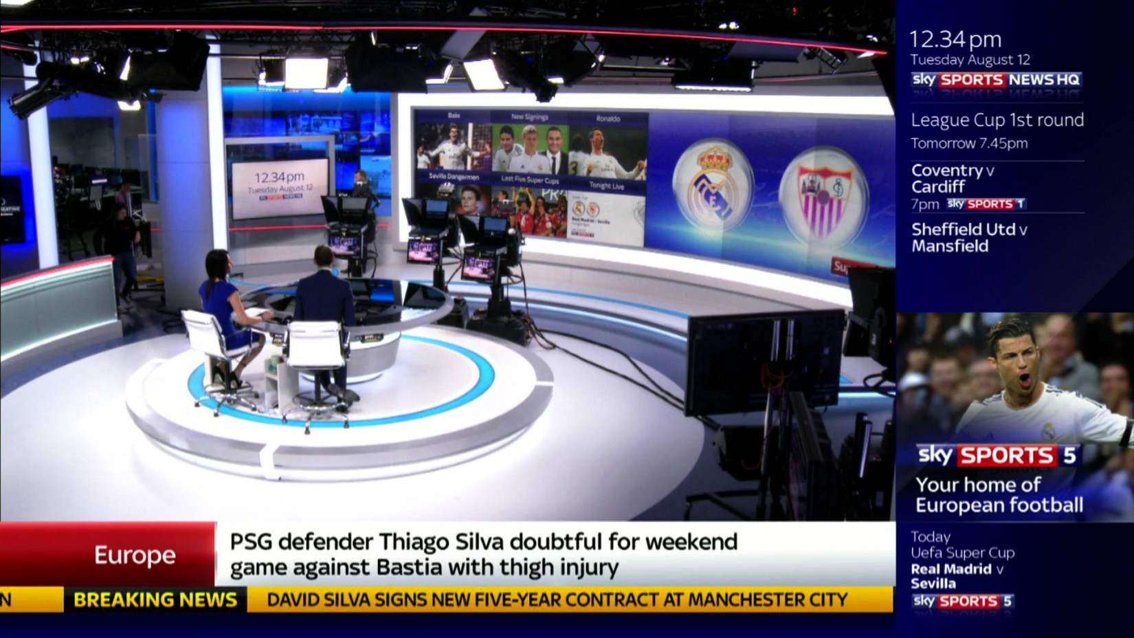 Sky Sports News HQ font - forum | dafont.com