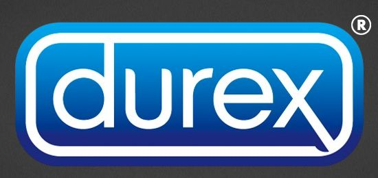 Durex Logo and packaging type