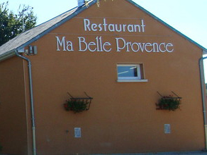 "What's the font of "" Ma Belle Provence "" ?"