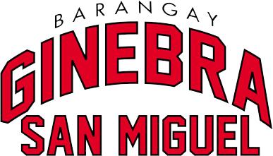 barangay ginebra jersey font
