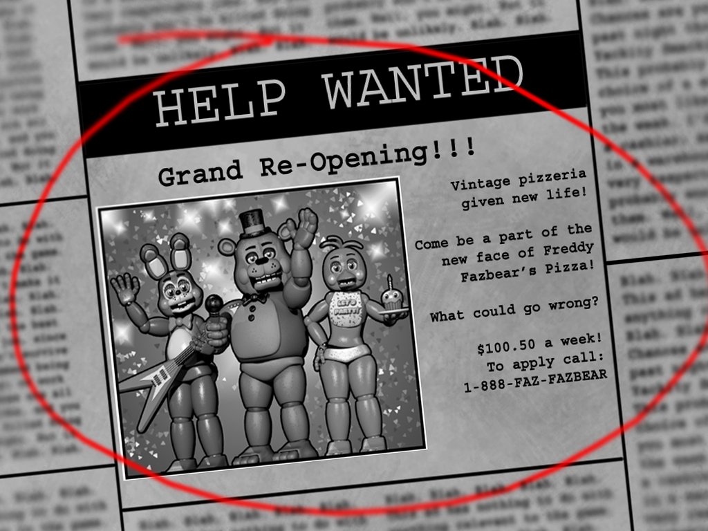 Freddy frazbears pizza phone number - Hey Foxy_1987 Here I Wish You Happy Holidays And The Project Will Be Ready Very Soon