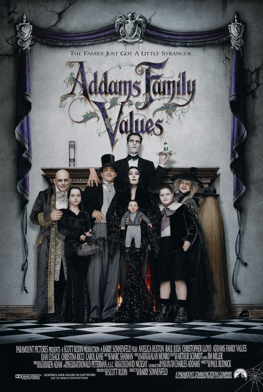 The Addams Font.