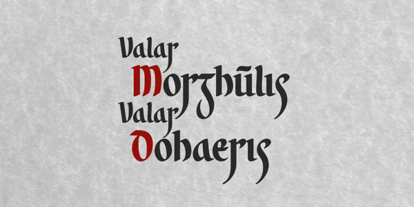 Valar Morghulis on Police Alphabet