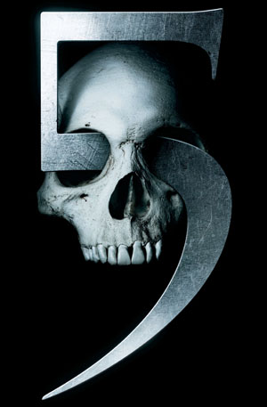 "Final Destination 5 - FONT FOR ""5"""