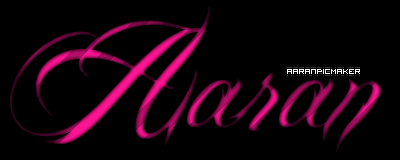 What is this font? (the one saying aaran)