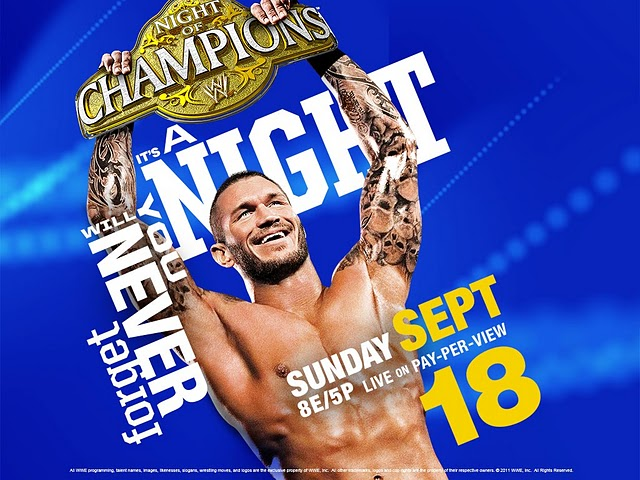 Night Of Champion WWE PPV FONTS?