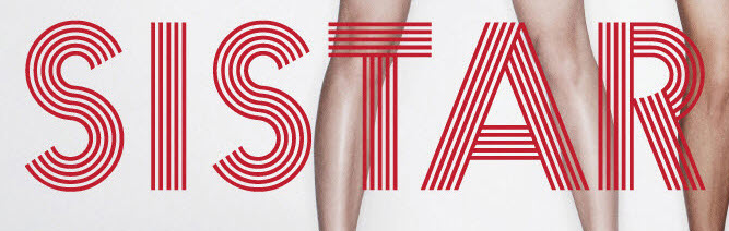 SISTAR (Lined font).