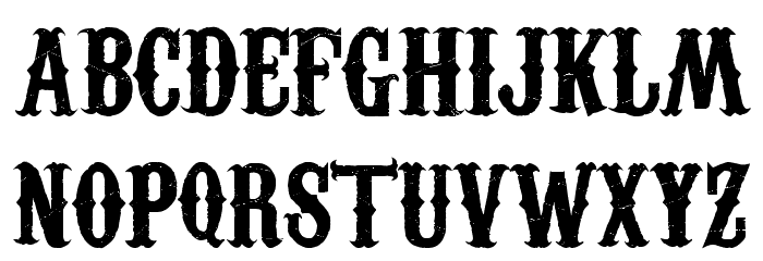 Carnivalee Freakshow font by Livin Hell  FontSpace