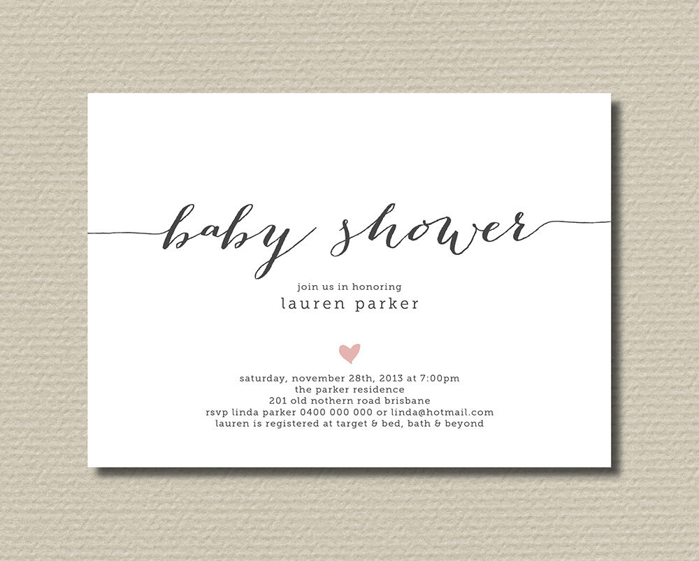 baby shower font forum