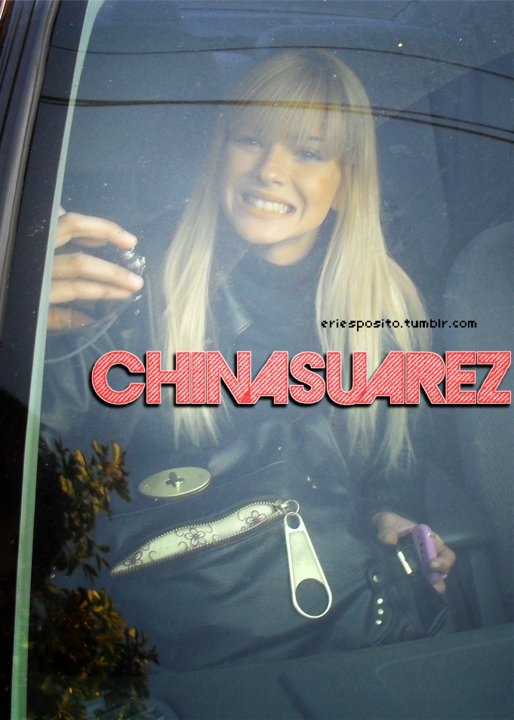 'CHINA SUAREZ' Font pleasee