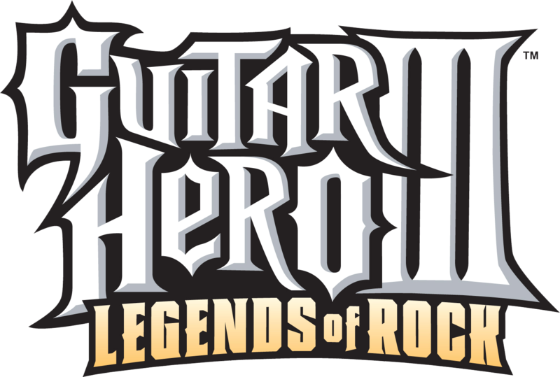 "Guitar Hero III logo - the ""Legends of Rock"" part"