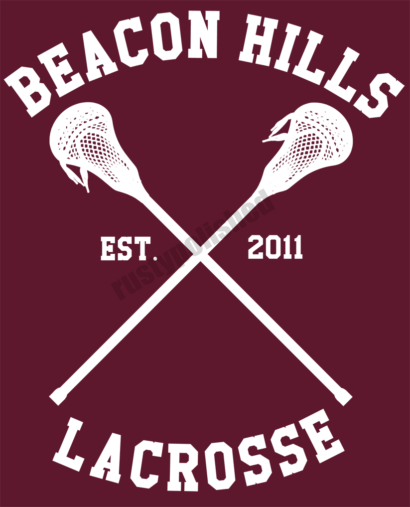 Can anyone identify the Beacon Hills Lacrosse font please ...