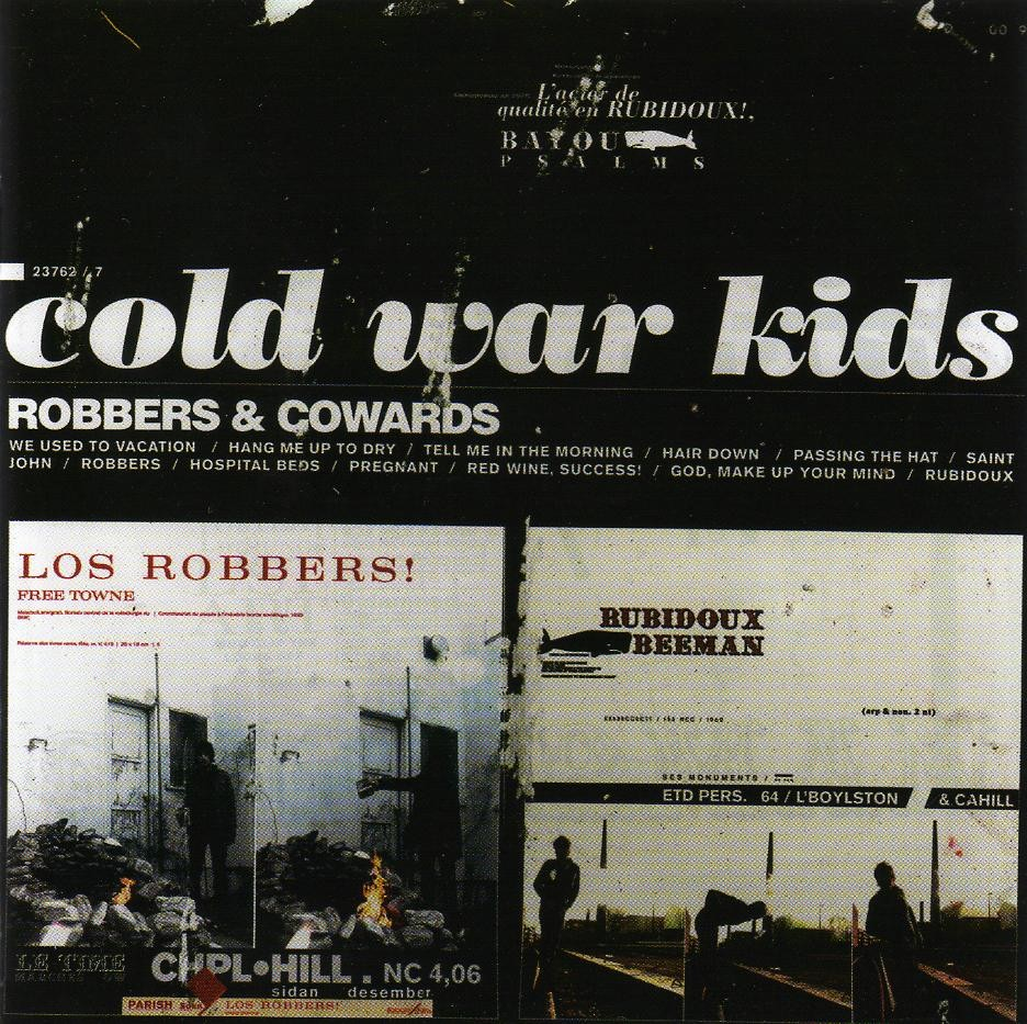 Cold War Kids / Robbers & Cowards Font