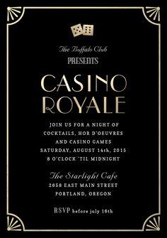 casino royale font