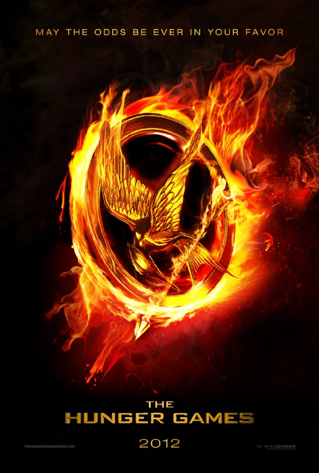 The Hunger Games movie poster font?