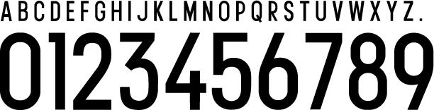 adidas 2016 font