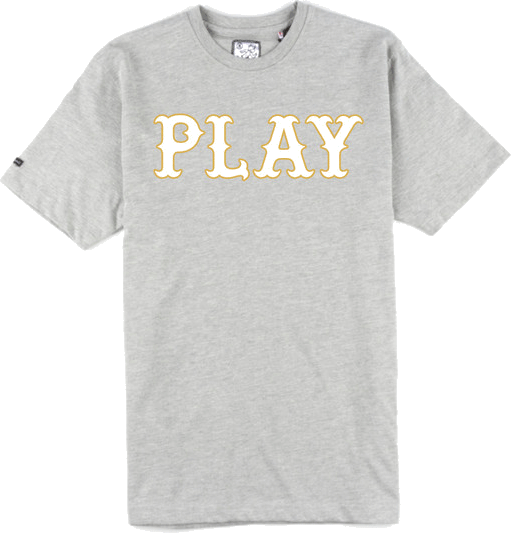 "What font is ""PLAY""?"