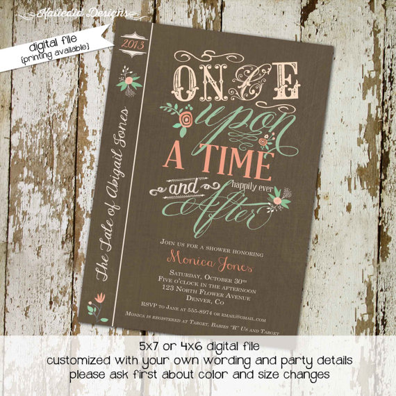 "I need all the fonts in the title of this book cover. ""Once Upon a Time and After"""